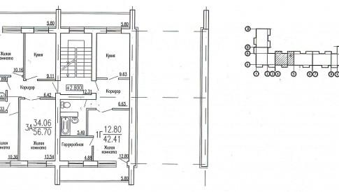 блок-секция 2 этаж