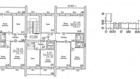 блок-секция 3-5 этаж